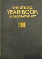 Portada de libro 'The Studio' Year-book of decorative Art 1918